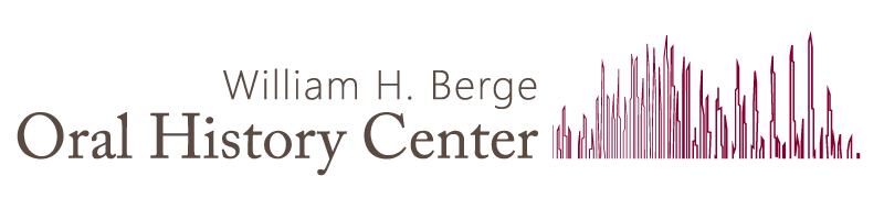 William H. Berge Oral History Center